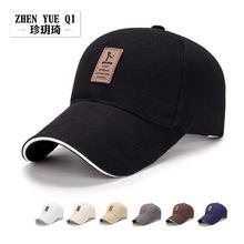春秋季簡約商務棒球帽男士戶外遮陽帽棉質休閑太陽帽高爾夫帽子