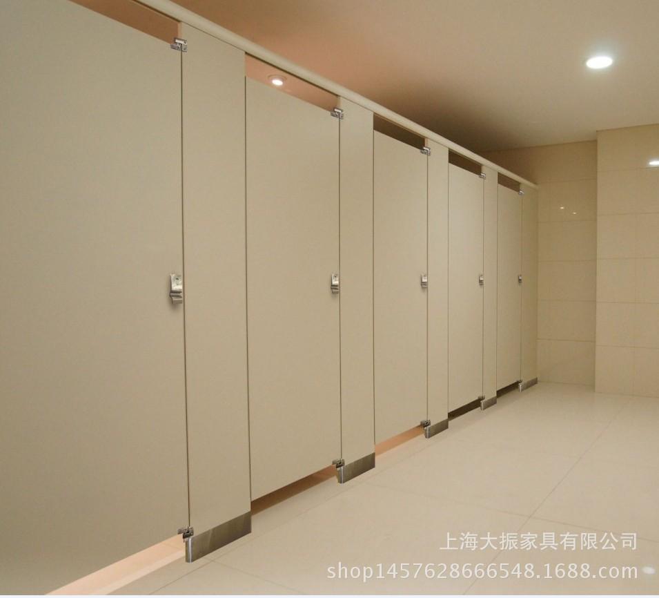 公共厕所隔断门厕所隔断防水景区工厂健身房学校隔断墙图片