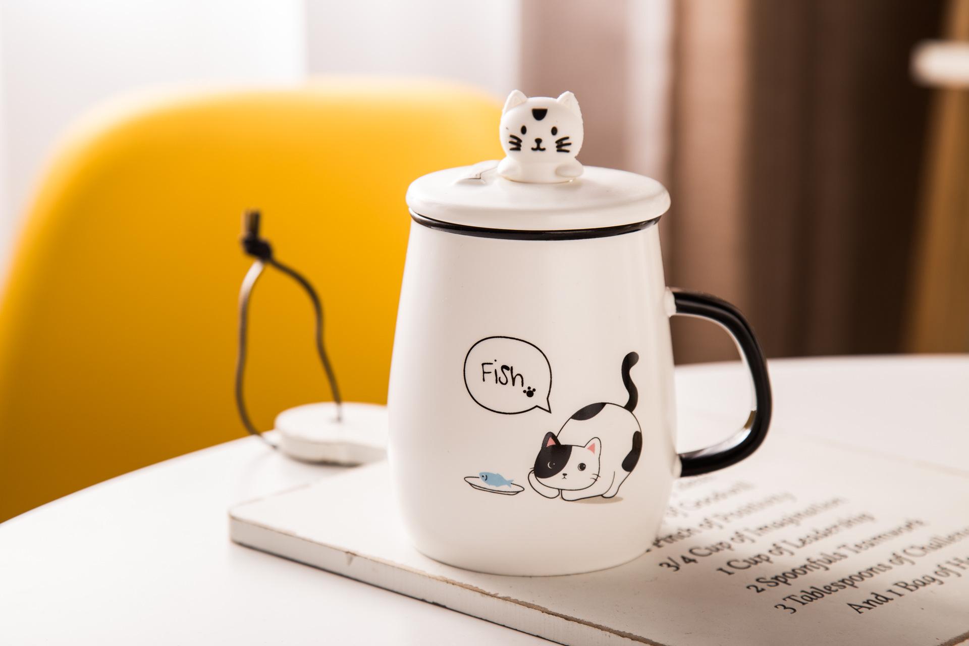 儿童手工制作纸杯小猫