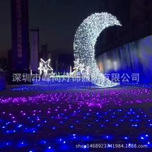 8*10米大面积工程led渔网灯 灯光节街道亮化草坪装饰灯串 供外贸