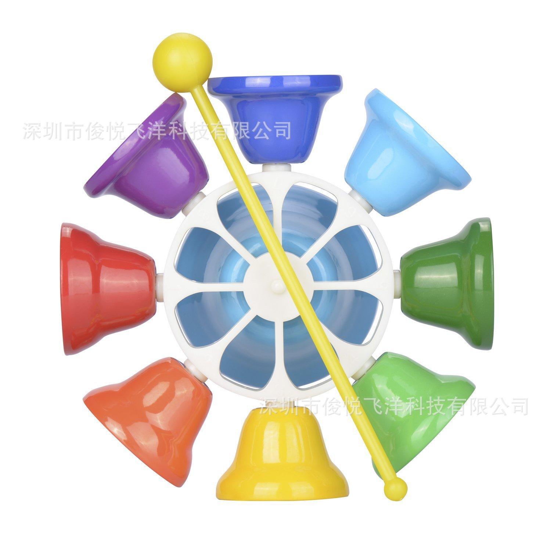厂家批发 奥尔夫乐器 八音课铃 A款 儿童打击乐器铃铛玩具礼物