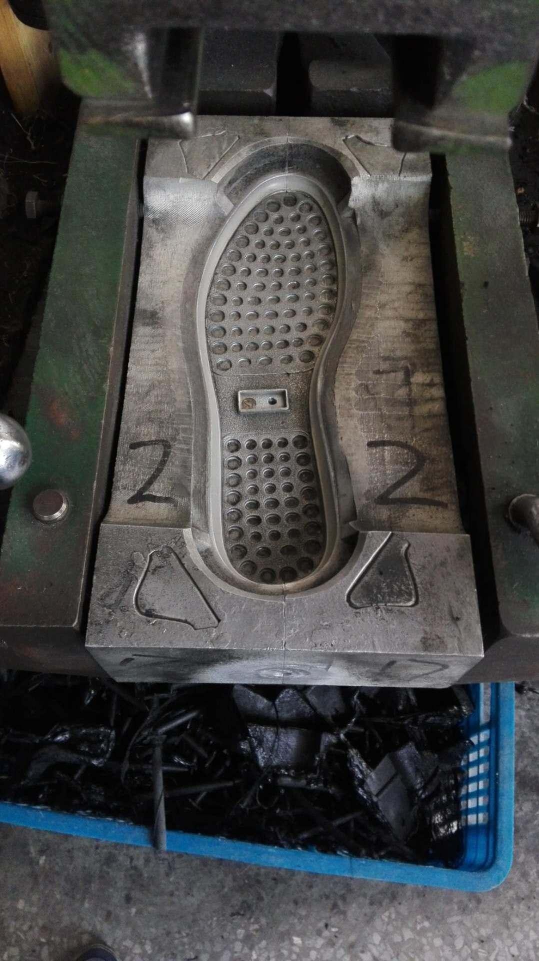 出售转盘机注塑pvc鞋鞋底二手模具旧模具