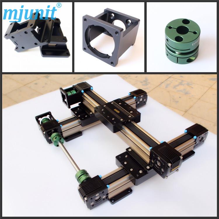 迈捷精密线性直线滑台模组配件便携式数控切割机铝型材导轨定做