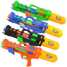 儿童玩具水枪 抽拉式漂流水枪 儿童大号气压喷水枪户外玩水玩具