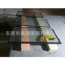 电加温钢化中空防雾玻璃 电加热除雾平板玻璃 双层钢化夹胶玻璃