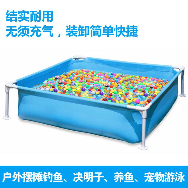 室内游泳池 户外加厚婴幼儿童钓鱼池摆摊玩具波波池戏水池沙池
