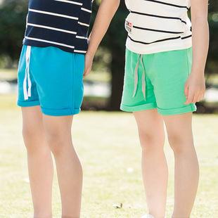 夏款夏天儿童衣服男女儿童短裤夏季纯棉外穿裤子女童三分裤清仓