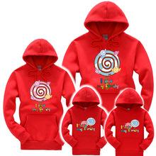 亲子装卫衣新款爆款儿童纯棉卡通情侣套装微信团购家庭休闲装长袖