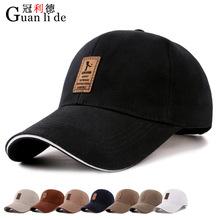 新款韓版男士 棒球帽 棉質鴨舌帽秋季帽子戶外運動遮陽帽批發簡約