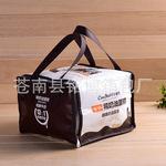 厂家定制无纺布覆膜保温袋  外卖保温袋 野餐冰包袋可定制LOGO