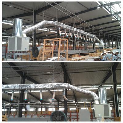 工业冷机_工厂车间员工岗位空调 5匹sac140冷空调 大型流水线工业冷气机