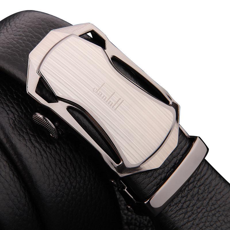 男士皮带品牌自动皮带扣裤腰带韩版商务真皮皮带厂家直供一件代发
