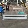 天津雙層加厚緩沖秤供應2x3m大型彈簧秤 5T10T打印功能電子地磅