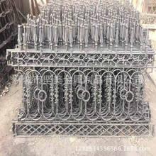廠家直銷鐵藝圍墻圍欄   別墅外墻鑄鐵欄桿  鑄鐵護欄精美耐用
