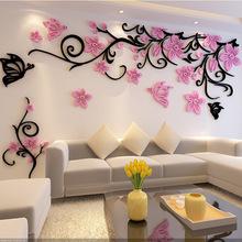 亚克力3d立体墙贴画客厅沙发卧?#19994;?#35270;背景墙壁室内?#32771;?#23478;居装饰品