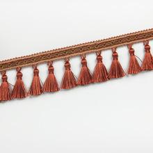 2017新品窗帘吊穗花边厂家直供 时尚花边窗饰现货批发HQ-77