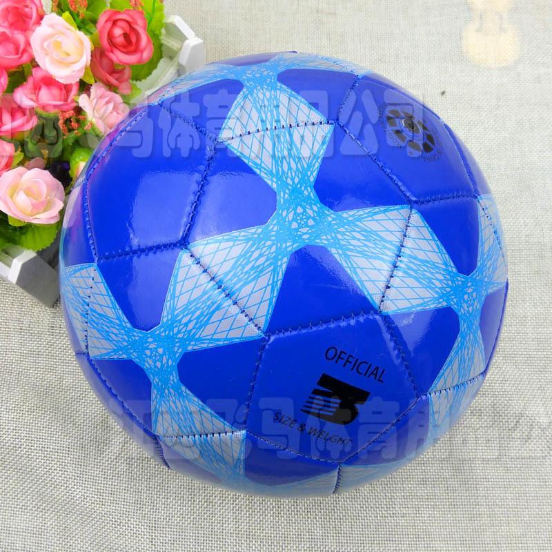 厂家批发 标准2/3号PVC卡通足球 学生儿童校园训练机缝 礼品足球