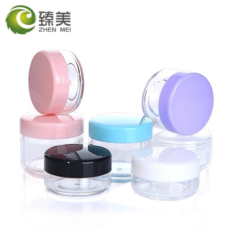 10/15/20g克PS面霜盒 膏霜瓶 试用装小样盒瓶 化妆品包装分装盒瓶