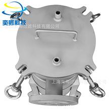 供應袋式過濾器 不銹鋼單袋式過濾器 平蓋吊環式大流量 操作便捷