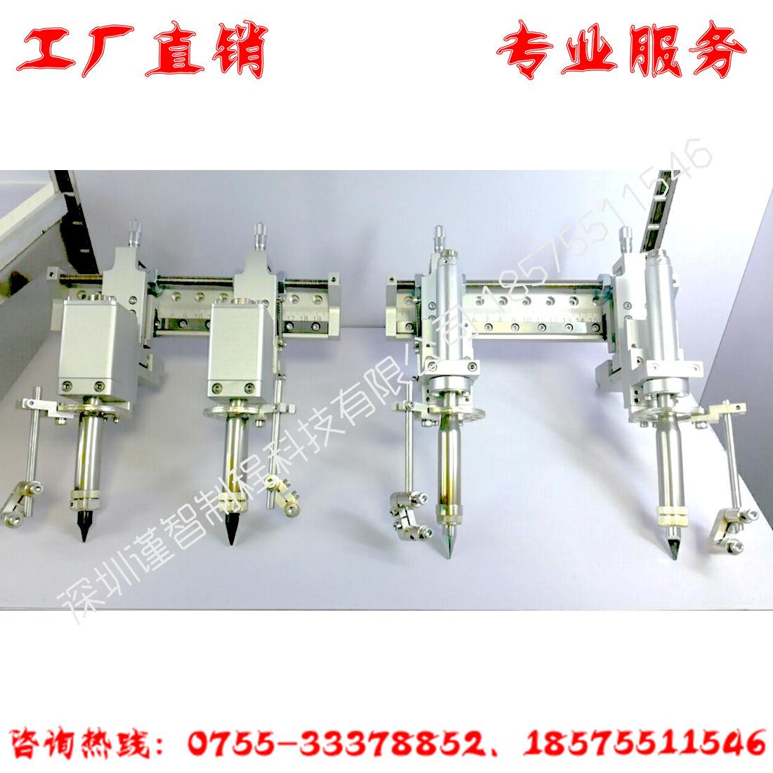 自动焊锡机配件 双头夹持双烙铁手柄固定支架 威乐发热芯双头治具