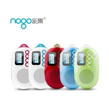Nogo/樂果 Q12收音機迷你插卡小音響播放器兒童老年人外放隨身聽