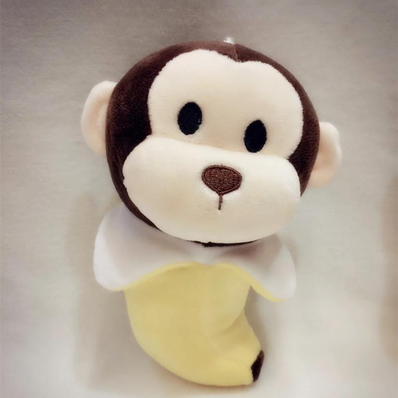 厂家直销可爱小动物毛绒玩具 汽车竹炭包公仔汽车摆件小娃娃批发
