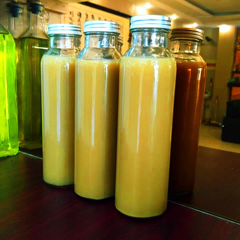 创意密封铝盖饮料瓶 奶茶店果汁饮料玻璃冷饮瓶 奶瓶酸奶杯批发