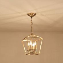 美式乡村全铜吊灯客厅餐厅卧室阳台玄关北欧复古创意现代简约灯具