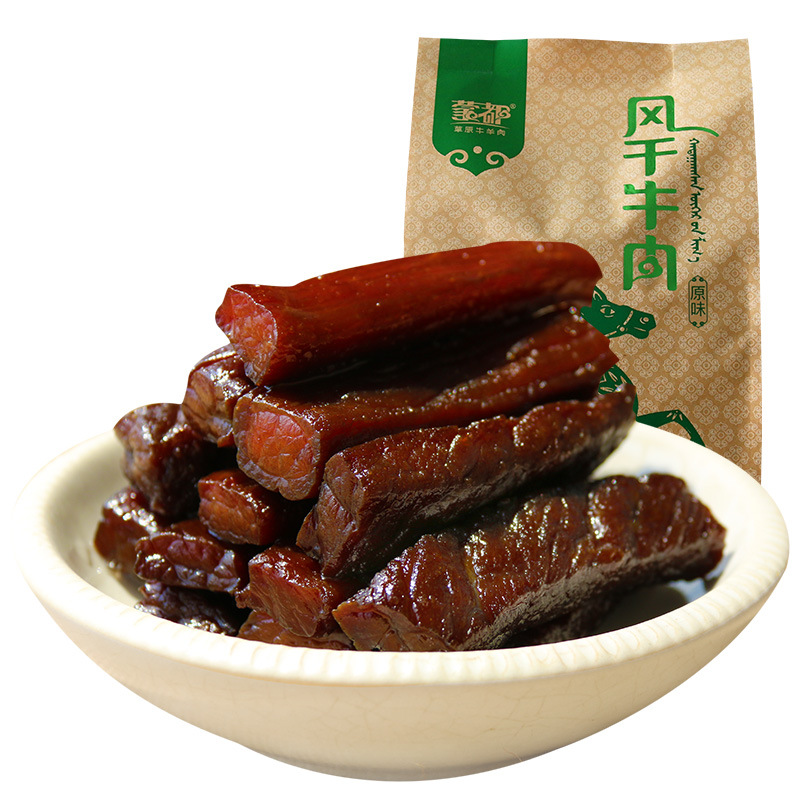 <font color=red>牛肉</font><font color=red>干</font>内蒙古正宗手撕 零食特产清真小吃 蒙都<font color=red>风干</font><font color=red>牛肉</font><font color=red>干</font>香辣
