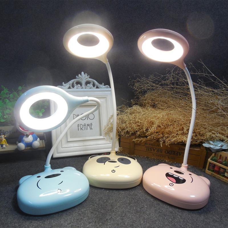 led台灯usb充电护眼儿童台灯 阅读学生学习触摸调光台灯led写字灯