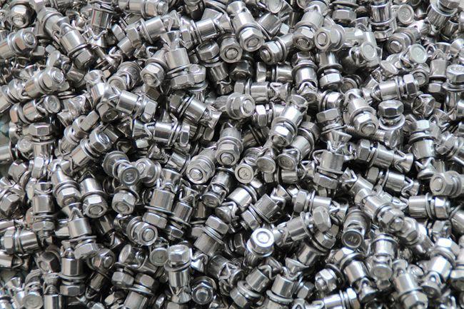 M8*32 304不锈钢背栓 敲击式背栓 大理石陶瓷石材专用 三角卡背栓