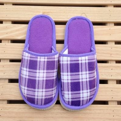 大方鹿纹秋冬季居家室内拖鞋 家居地板男女保暖拖鞋 专供淘宝礼品