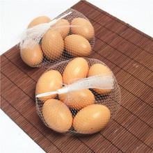 10元店货源 木制玩具 仿真鸡蛋组  超逼真仿真鸡蛋 过家家玩具