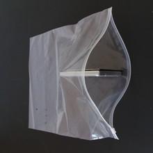 厂家批发现货包装袋 服装包装袋 双面高透明PE服装包装拉链袋