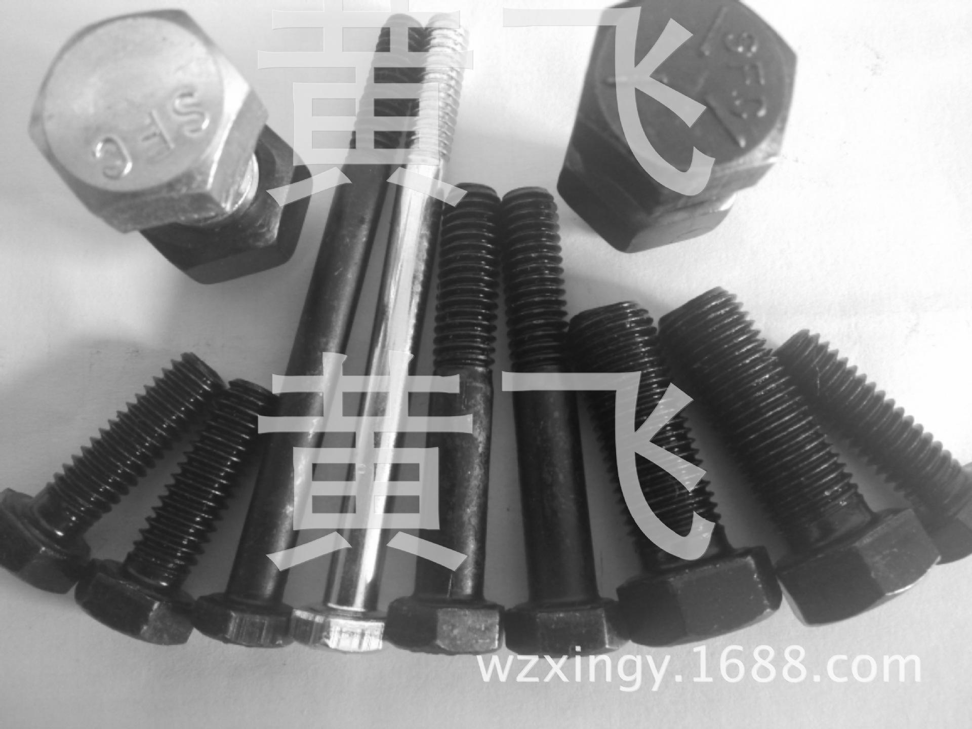 304不锈钢外六角螺栓螺丝六角头螺杆 M8|M10|M12| 紧固标准件厂家