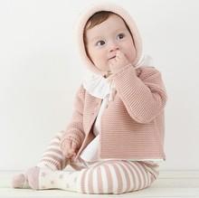 女童装新款宝宝开衫针织衫婴儿秋季外套纯棉衣服秋冬外套