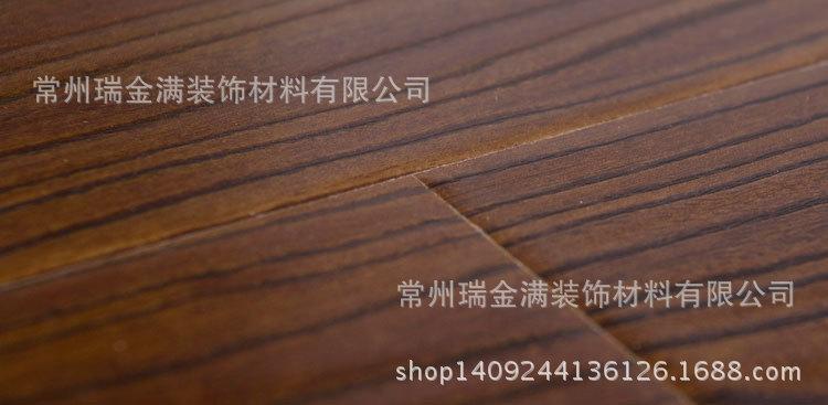 手抓纹咖啡色 欧式做旧耐磨 仿实木强化复合木地板12mm厂家直销