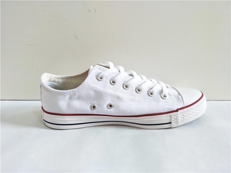 一件代发批发帆布鞋经典色帆布休闲鞋高帮鞋大码多彩色鞋韩版新款