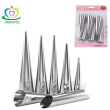 大号锥形不锈钢丹麦大螺管阳极 牛角包工具 牛角包模具 烘焙工具