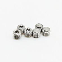厂家生产内梅花槽平端紧定螺丝 m5*4机米顶丝 304不锈钢螺丝钉