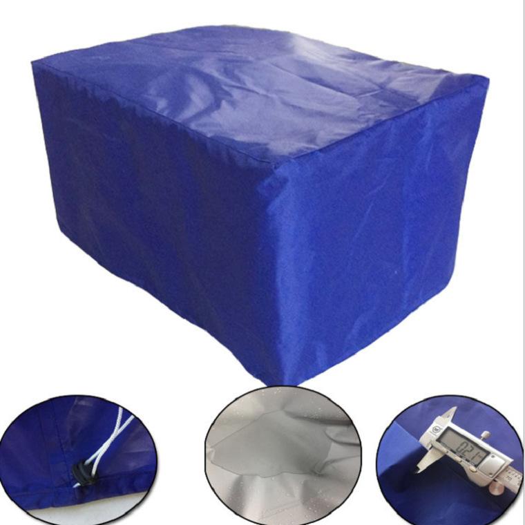 厂家大量供应机械设备防尘罩货场工地帆布防雨罩 鱼池防渗布罩
