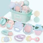 包邮水煮摇铃套餐婴儿玩具3-6-12个月8益智小男女孩早教宝宝0-1岁