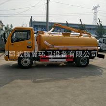 山東廠家直銷 東風多利卡國五5-10噸大吸力吸污車價格多少錢圖片