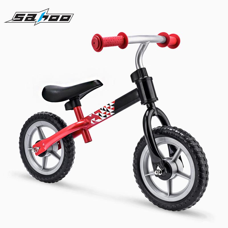 厂家批发SAHOO鲨虎无脚踏两轮儿童滑步车 平衡自行车 宝宝学步车