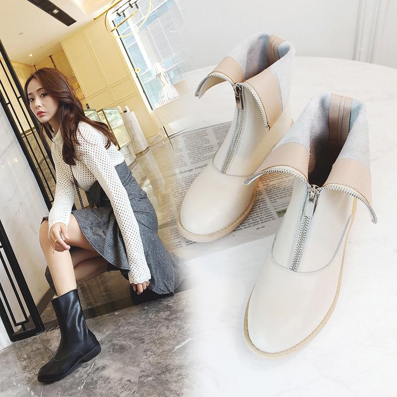 些完美百搭的短靴子 潮流时尚 冬季必备