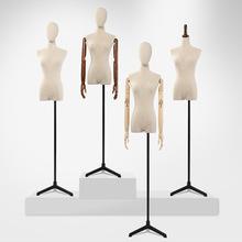 爆款服装店模特道具女半身展示架女装橱窗全身假人婚纱衣服模特架
