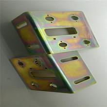 镀彩锌加工厂 铁材挂镀环保彩锌 镀锌表面处理 环保电镀锌