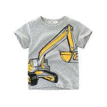 品牌童裝夏季新品男童T恤短袖 韓版兒童服裝寶寶衣服潮牌一件待發