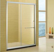 酒店工程淋浴房隔斷批發一字衛生間鋼化玻璃移門