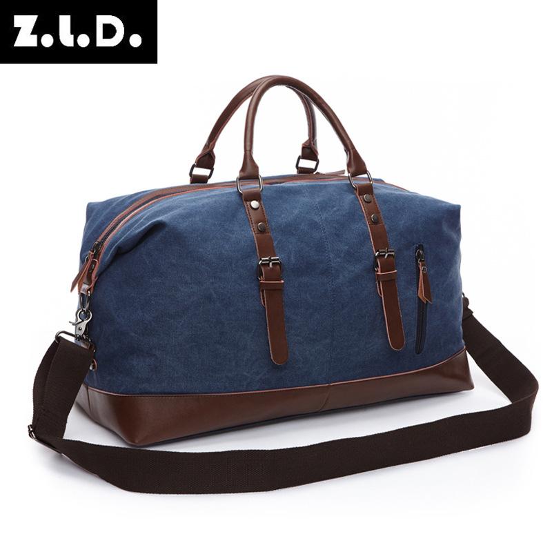 跨境 牧谷旅行包户外行李包大容量男女休闲帆布包单肩斜挎手提包